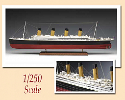 Euromodels PHOTO ETCHED PARTS FOR 'TITANIC' COMPLETE SET. 1/250e