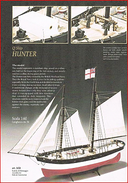 Euromodels Q-Ship Hunter 1:60 Scale Q-Ship Used For Sinking U-Boats