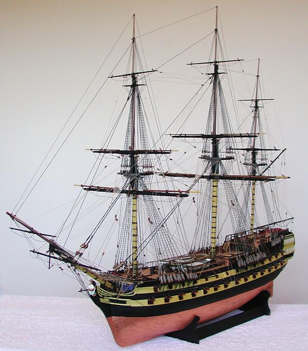 Euromodels | Buy Victory Models HMS Vanguard 1787 74 Gun