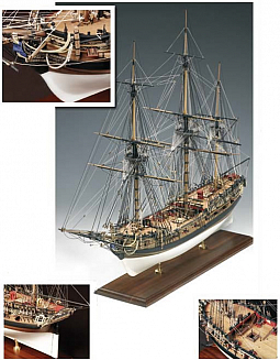 Euromodels Victory Models HMS Fly 1776 1:64 Scale